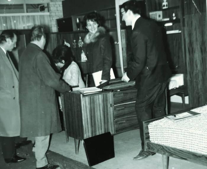 Annick et Dominique Soulard, Salon du meuble Paris